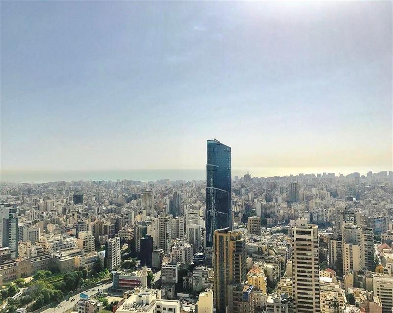 Highest tower in Beirut samabeirutlb lebanon - Picture Taken from Abdel...