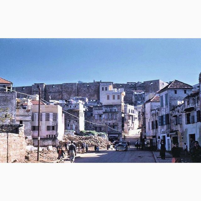طرابلس القلعة عام ١٩٥٦ ،