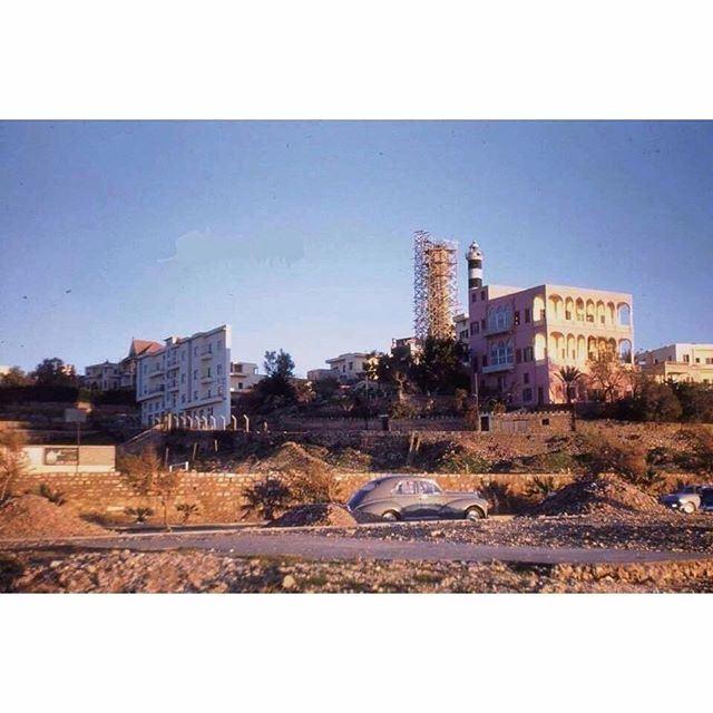 بيروت المنارة عام ١٩٥٥ ،