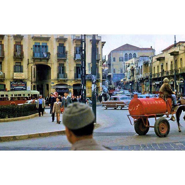 صباح الخير من بيروت رياض الصلح عام ١٩٦٠ ،