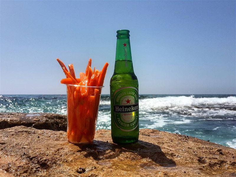 beertime heineken beachtime beachlover summerlover lebanon jiyeh ...