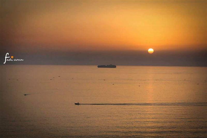 photo fadiaounphotography sunset Lebanon sea photoinsta photoday ...