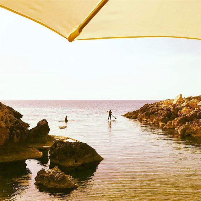 🏄🏻🌅•••••••• prolebanon igersworldwide sea livelovebeirut ... (Al Jammal Restaurant)