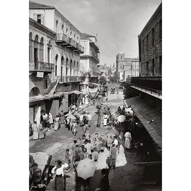 بيروت الجميزة عام ١٩١٢ ،