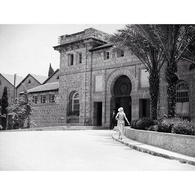 بيروت الجامعة الامريكية عام ١٩٢١ ،