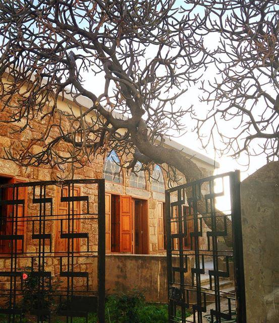 Beautiful house lebanon nature naturelovers natureporn landscape ... (Batroûn)