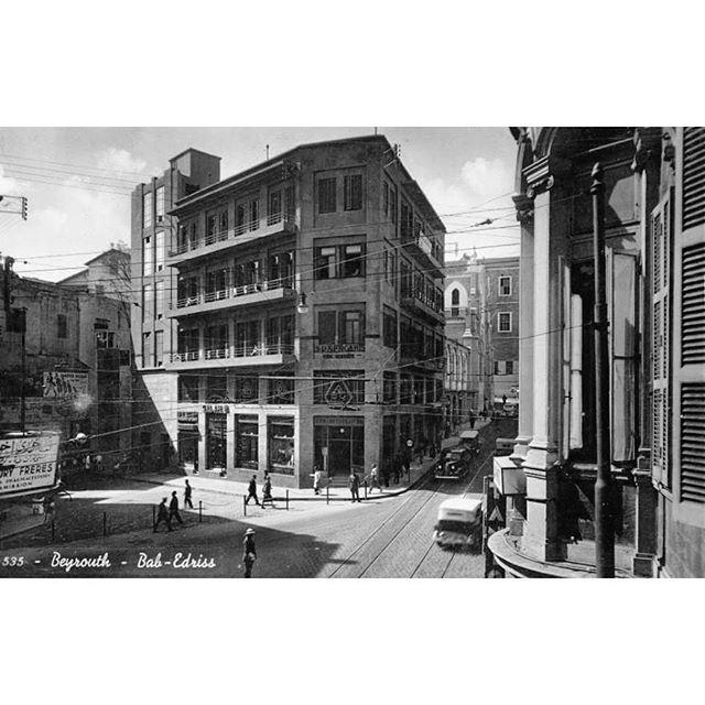 بيروت باب ادريس عام ١٩٣٩ ،