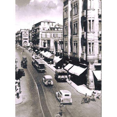 بيروت شارع ويغان عام ١٩٤٩ ،