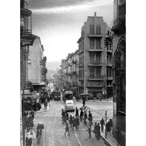 بيروت باب ادريس عام ١٩٤٨ ،
