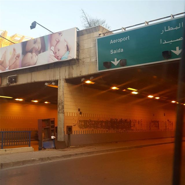 Aeroport 🙊😋 lol airport lebaneseairport haha beirut saida lebanon... (Airport Road)