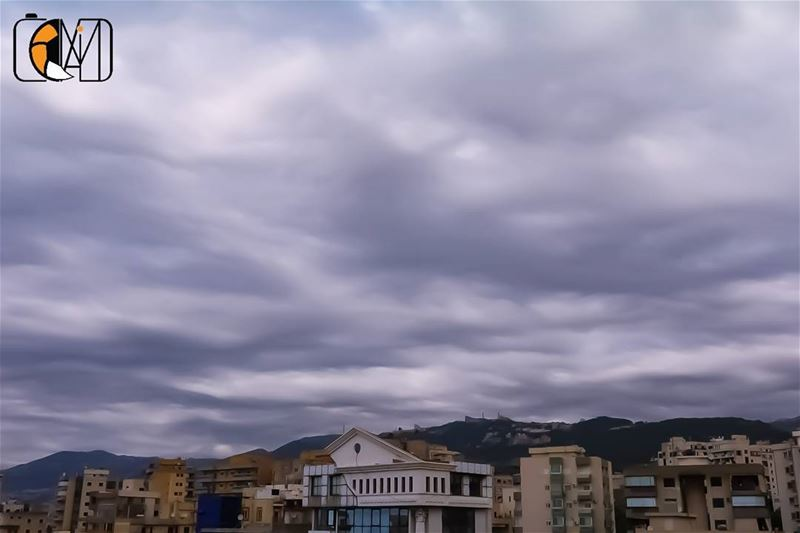 Stormy May Harissa Lebanon keserwan clouds cloudsporn skylover ... (Harîssa, Mont-Liban, Lebanon)