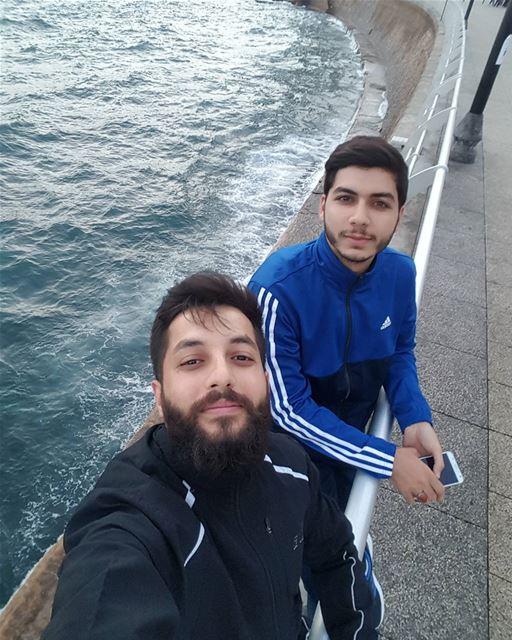 •أخاك أخاك ، ان من لا أخ له كساع الى الهيجا بغير سلاح • beirut manara ... (Ain El Mreisse, Beyrouth, Lebanon)