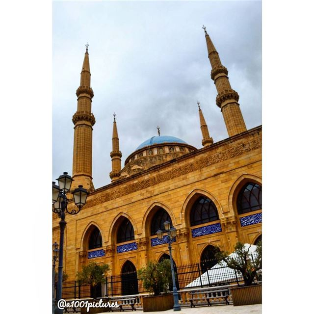 Majestic..... photos  photography  beirut  lebanon  mosque ... (Mohamad al amin, Downtown)