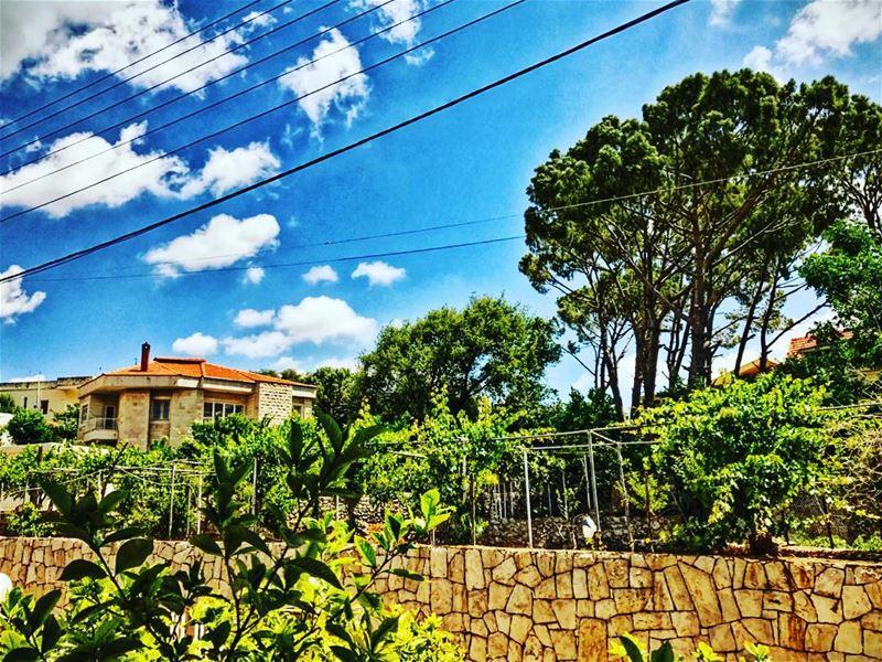 nature nice weather clouds spring house instagram ig_nature ... (Byblos - Jbeil)