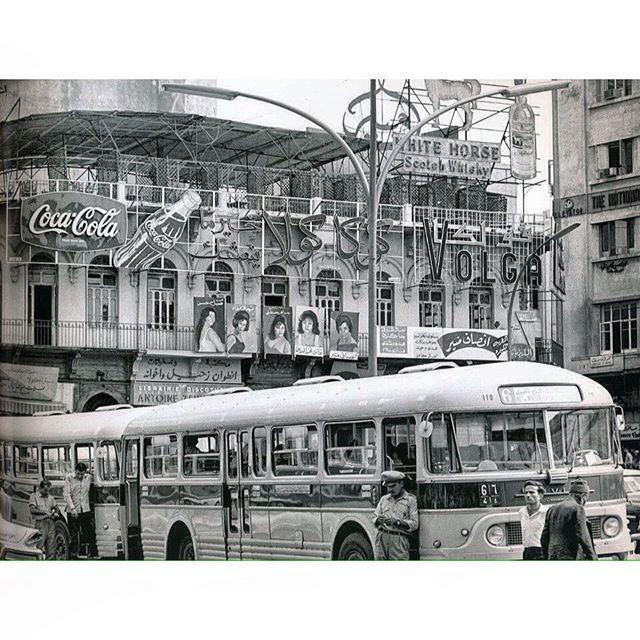 """بيروت جحش الدولة """" ساحة الشهداء """" عام ١٩٦٩ ،"""