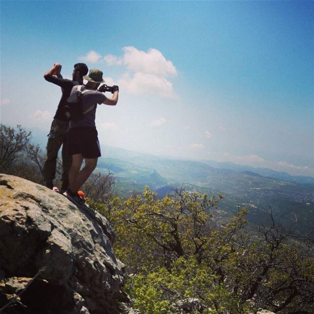 """The best view comes after the hardest climb.""@andrenoelghanem nature ... (Arz el Bâroûk)"