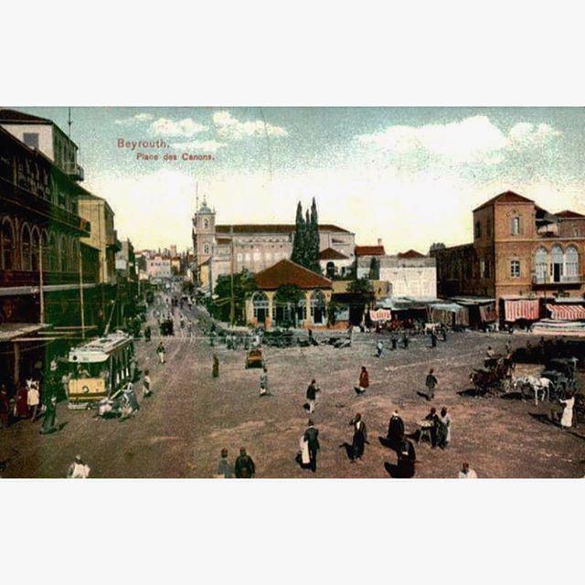 بيروت قهوة القزاز عام ١٩١٠ ،
