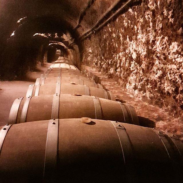 ksara wine caves bekaa leb lebanon livelovelebanon ... (Ksara Wine Caves)