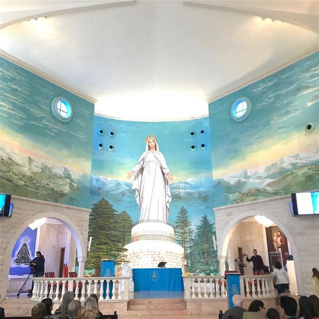 Agradecemos aos amigos e colaboradores, brasileiros e libaneses, por este... (Igreja Nossa Senhora do Líbano)