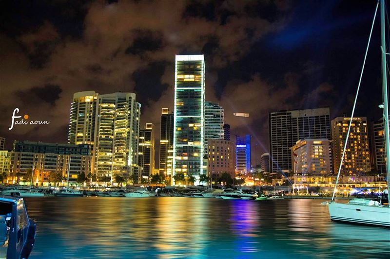 photo fadiaounphotography Lebanon beirut city lights photoshooting ...