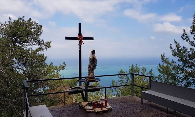 From darb el sama to Mont blanc...with the blessings of Saint Marie.... (Tarik Dareb El Sama)