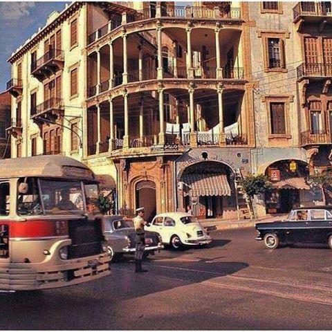 بيروت السوديكو عام ١٩٧١ ،