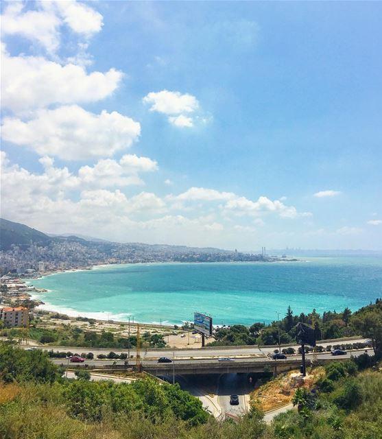 No water no life, no blue no green! 💚💙 Good evening friends! (Adma, Mont-Liban, Lebanon)