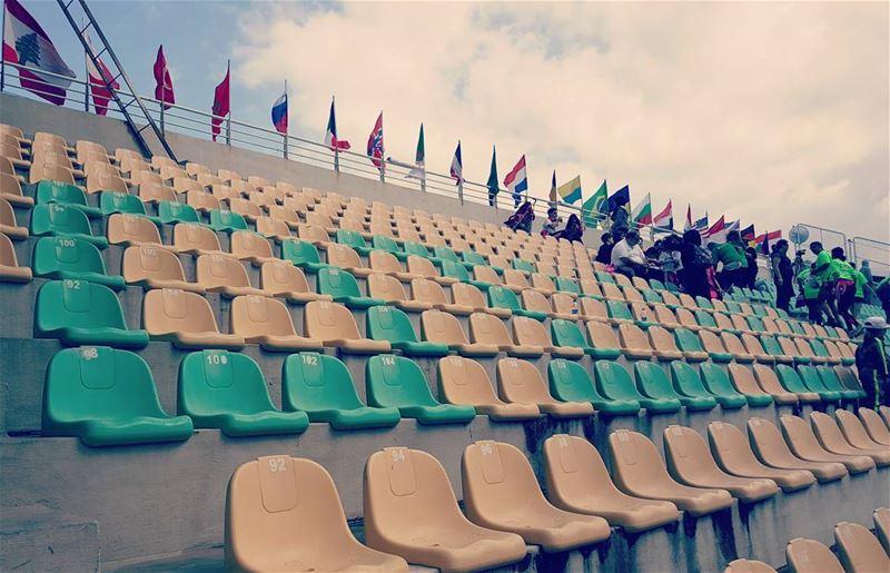 flag lebanon stadium jounieh 10kmraceday womensrace womeninpower ...
