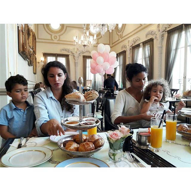 Sunday brunch upgrade at La Durée/ Beirut sundaymorning sundayfunday ... (Ladurée Beyrouth)