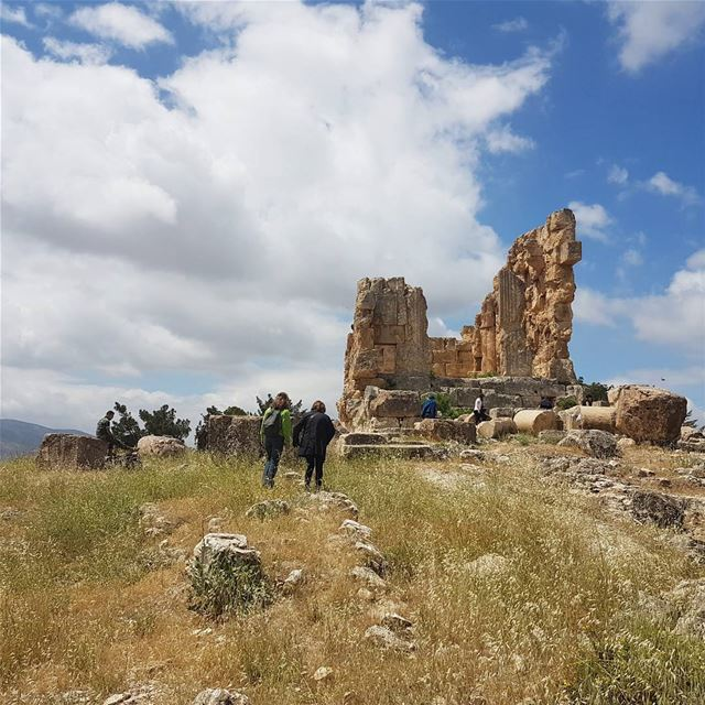 Walk to the iturea temple of majdel anjar with a small group. ... (Majdal Anjar)