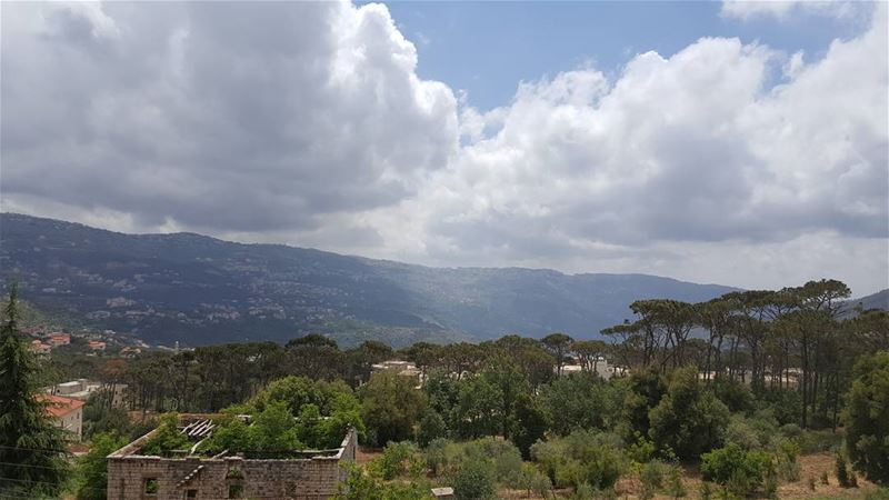 """Home is where the heart is ""   home  qalaa  metin  lebanon  mountain ... (Mount Lebanon Governorate)"