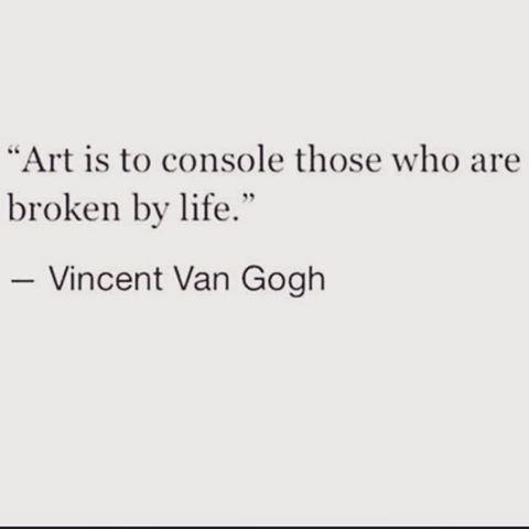 vangogh vincentvangogh modernart qoutes qouteoftheday art artist ... (Gemmayze)