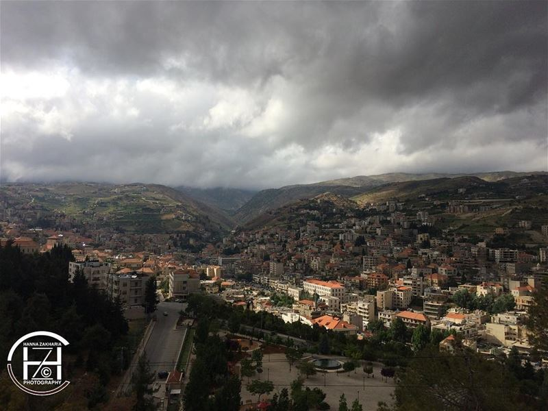 Today at 5:00 pm 📸 landscape photooftheday photograph ... (Zahlé, Lebanon)