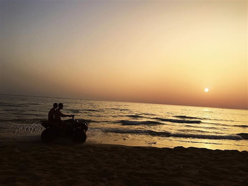 'a sunset is an opportunity to reset ...'''' photography ... (Tyre, Lebanon)