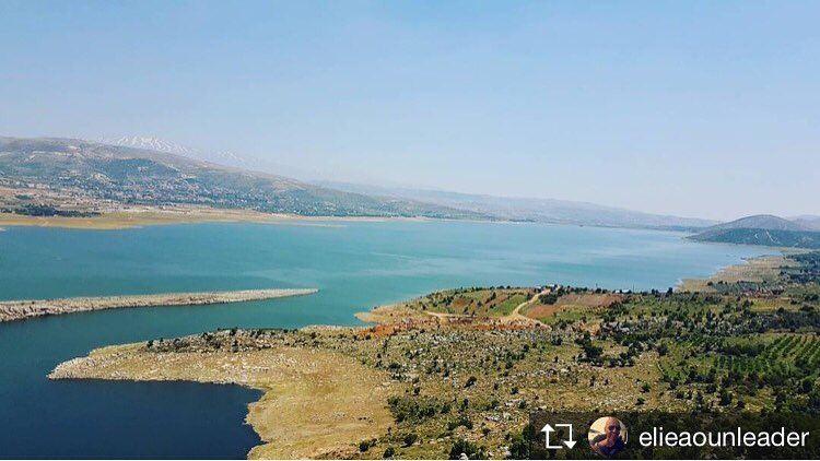 Repost from @elieaounleader Can you beat this view? 👊🏼 saghbine ... (Saghbîne, Béqaa, Lebanon)