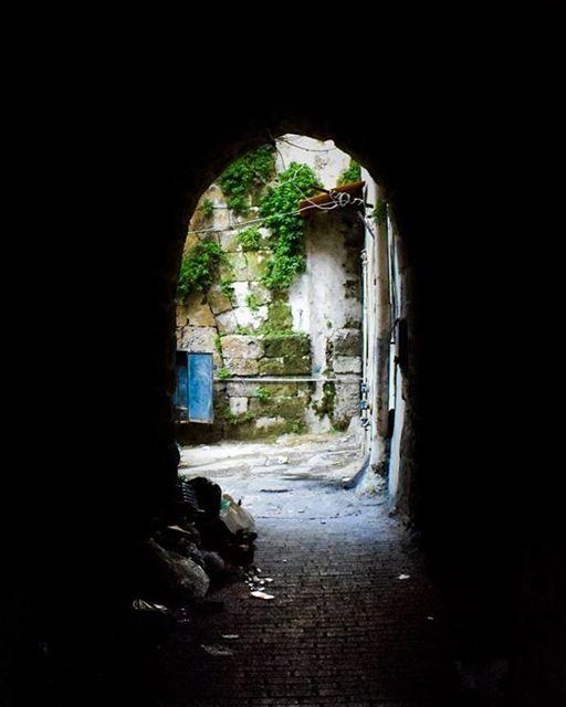 Tunnel vision. ... (Al Mina', Liban-Nord, Lebanon)