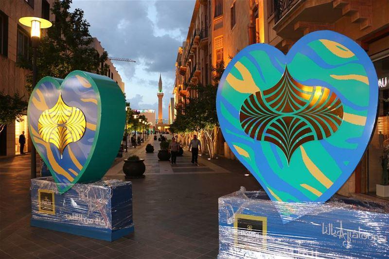 Holy Ramadan! ramadan ramadan2017 heart fulloflove holy downtown ... (Downtown Beirut)