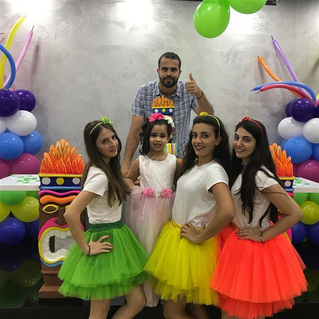 birthday party monitors love crew events lebanon beirut baloons ...