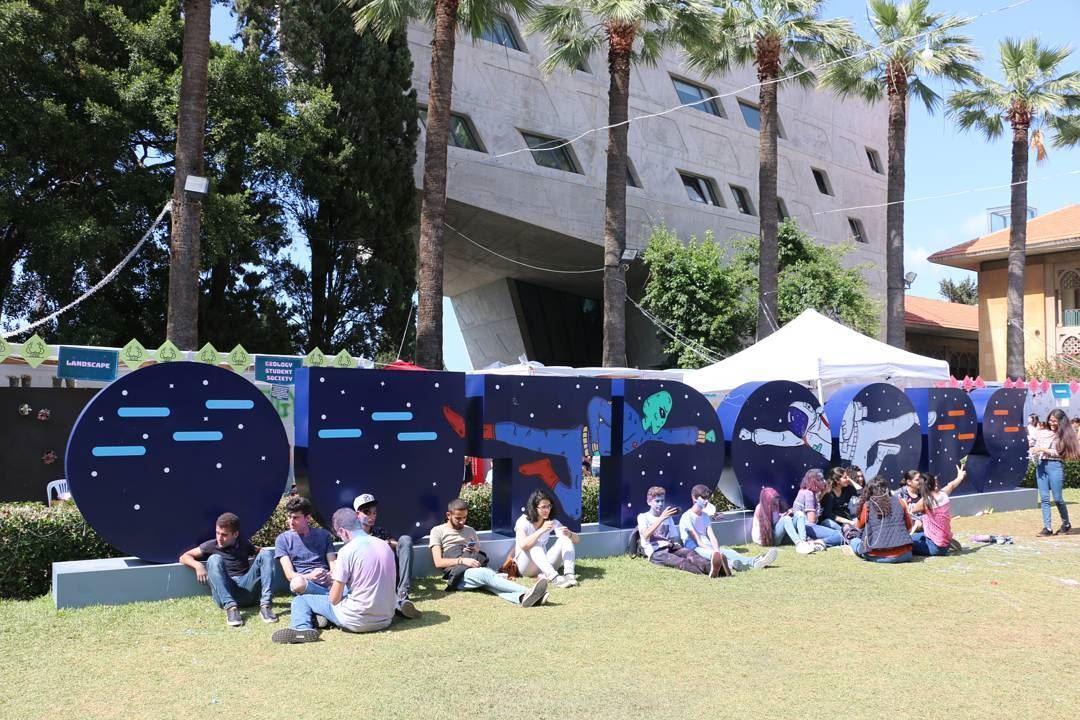 Alien Invasion. .. aub outdoors auboutdoors beirutevents beiruting ... (American University of Beirut (AUB))