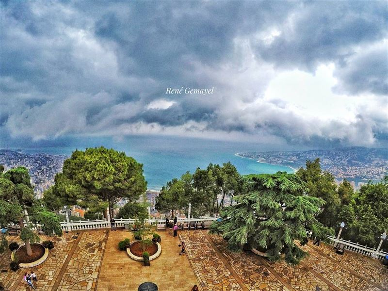 Above the clouds  goprome  yallagopro goproleb  livelovelebanon  ...