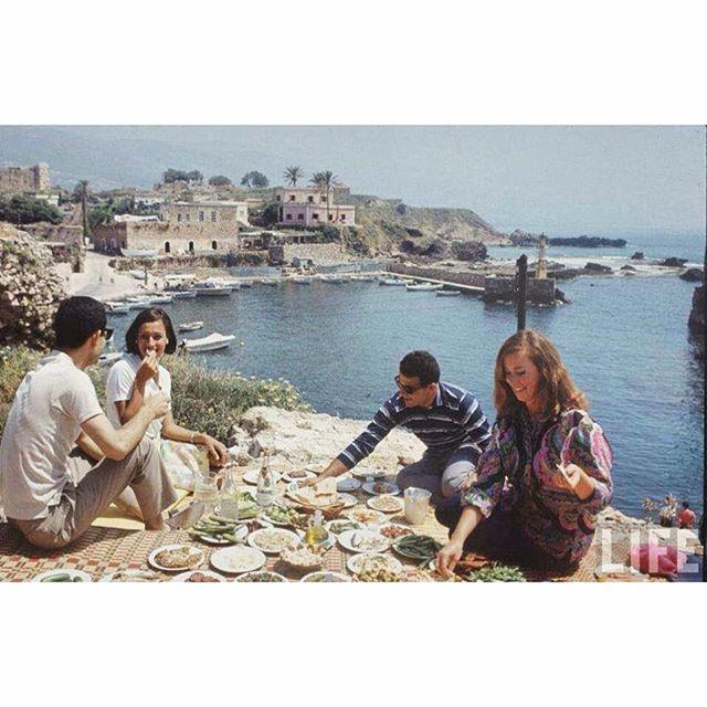 لبنان جبيل عام ١٩٧٢ ،