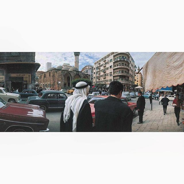 لبنان بيروت شارع ويغان عام ١٩٦٦ ،