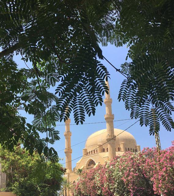 myhometown mycity mysaida saida saidabyalocal visitsaida ... (Al Hariri mosque)
