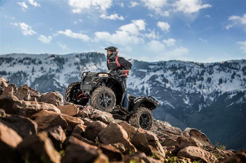 A totally new look on the 2017 Sportsman XP 1000 Stealth Black !For more...