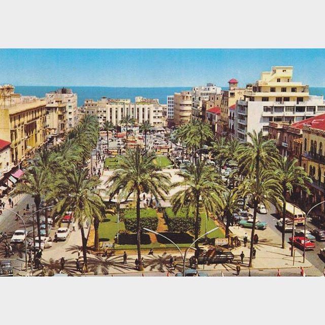 بيروت ساحة الشهداء عام ١٩٧٢