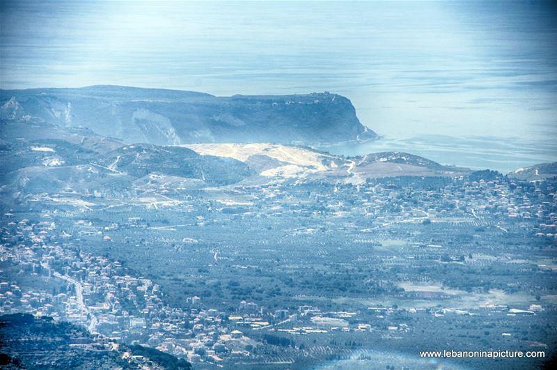 Chekka - Photo Taken from Saydet El Hosn Ehden (250mm zoom)