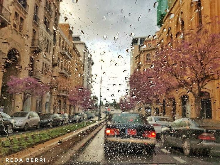 ورجعت الشتوية 😍 winter raining spring love lebamon ourlebanon ... (Beirut, Lebanon)