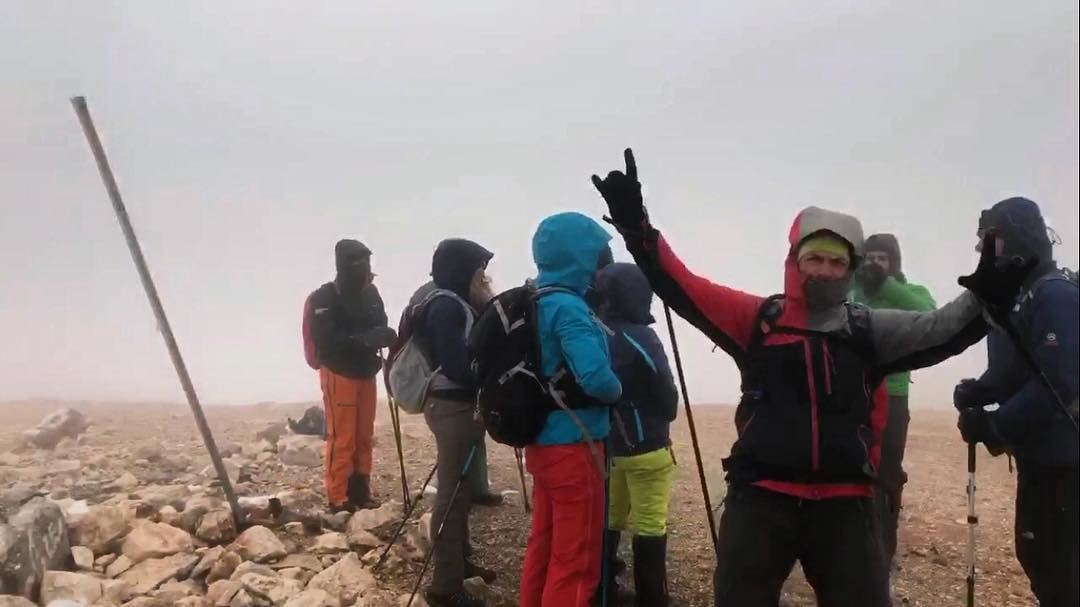 The white is back Exceptional stormy weather at jabalmakmel ...