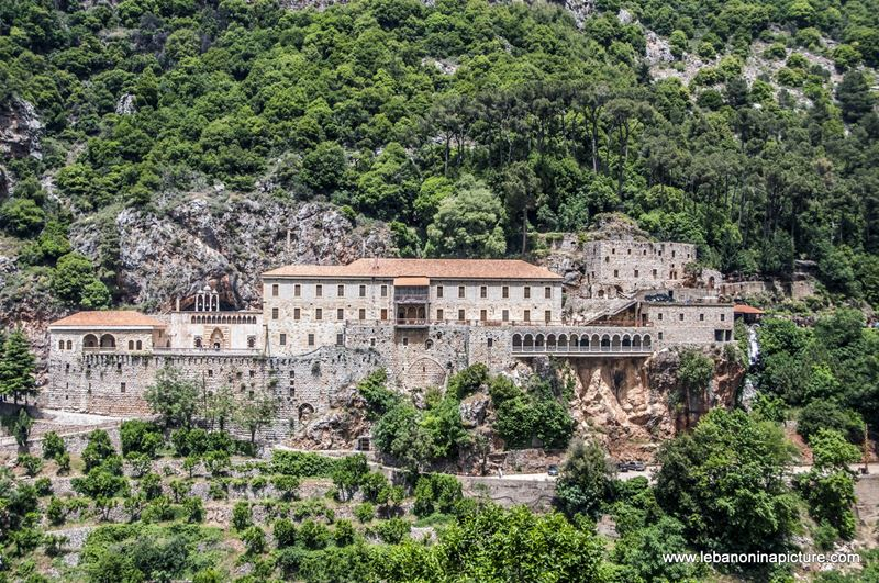 Mar Antonios Qozhaya Monastery (North Lebanon)