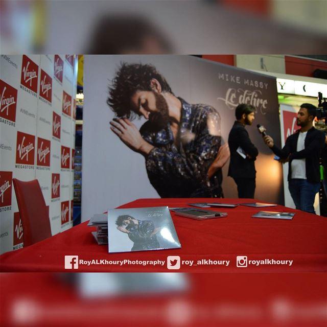 """""""Le délire"""" un nouvel album by Mike Massy!Present sur Anghami itunes...... (Virgin Megastore Lebanon)"""
